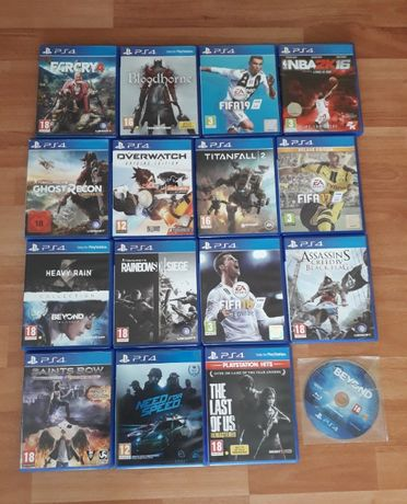 Jocuri Playstation 4 - OverWatch,Fifa 19, Last of Us, Nfs