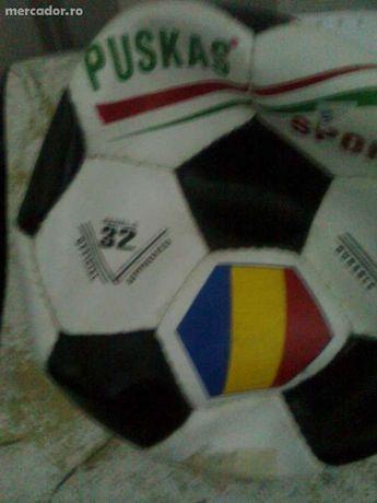 Minge fotbal din piele, Puskas, noua!!! Aprobata oficial