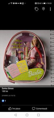 Papusa Barbie Mattel cu ghiozdan
