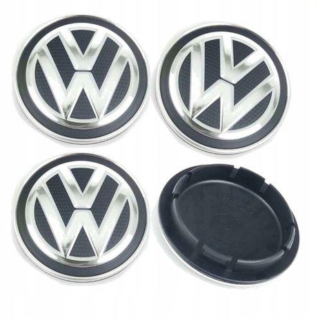 Set 4 Capace VW 66mm doar pentru jante originale VW