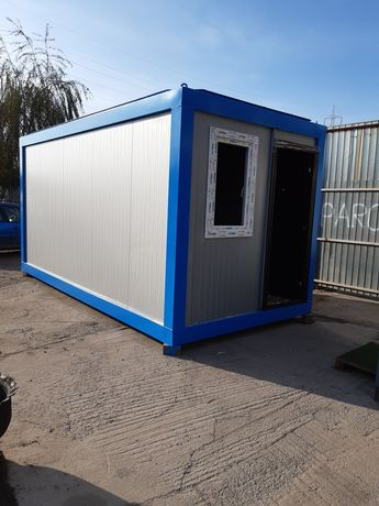 Container containere birou vestiar depozitare cabina paza santier