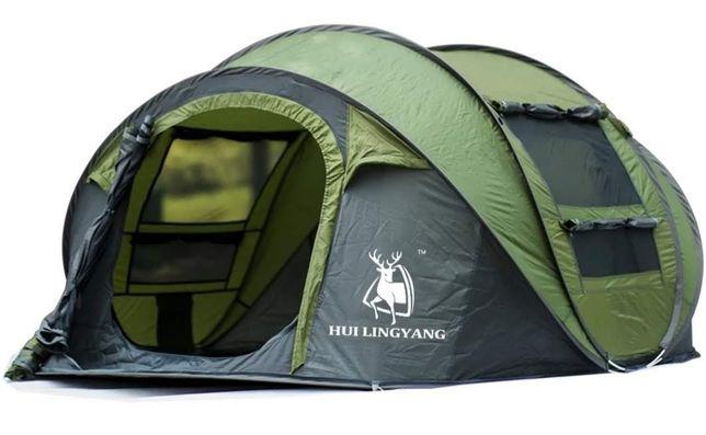 Большая палатка автоматическая