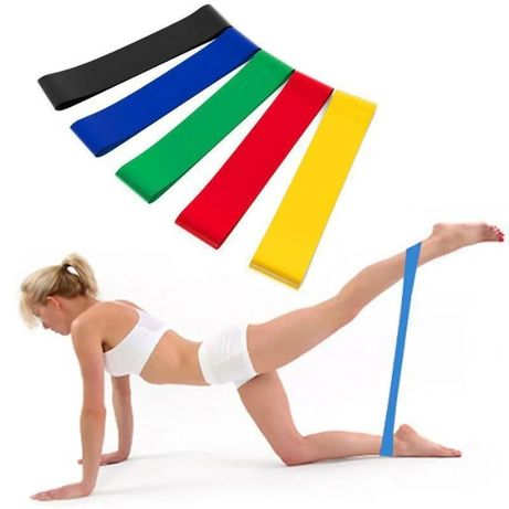Резинки (мини-петли) для фитнеса, набор в чехле