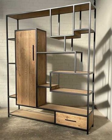 Дизайнерские полки, стеллажи и мебель в стиле лофт (Loft)