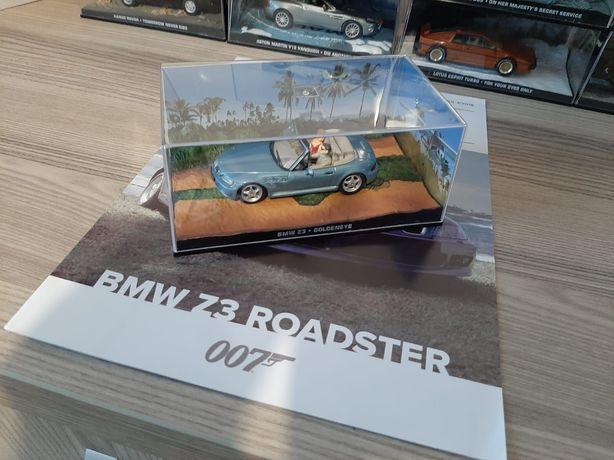 Macheta colecție - Masinile lui James Bond Nr.3 - BMW Z3 Roadster