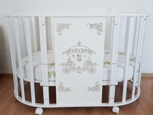 Продам новую детскую кроватку в комплекте