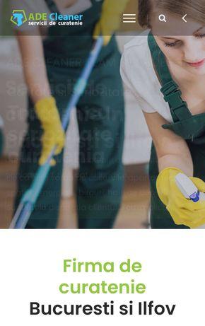 Firma de curatenie Bucuresti-Ilfov