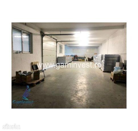 GAMINVEST - Hala cu spatiu de birouri de vanzare, Nojorid, Bihor V2316