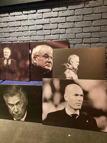 Картины футбольных тренеров