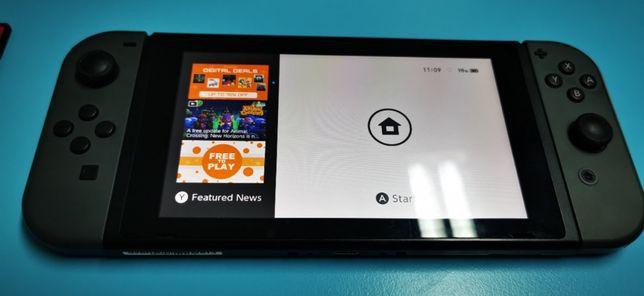 Nintendo Switch full box 5 jocuri si card 64Gb