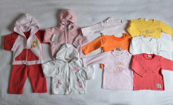 Бебешки дрехи Лот детски дрехи Сет детски дрехи за момиче 1-2 год