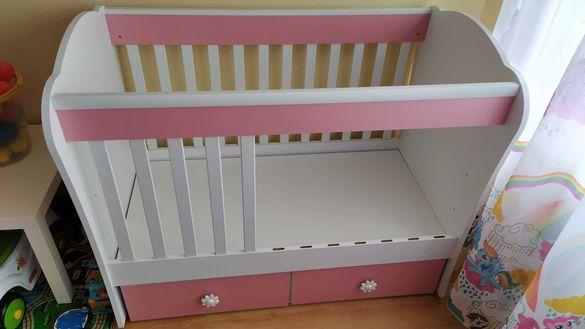 Бебешко легло с матрак 120/60
