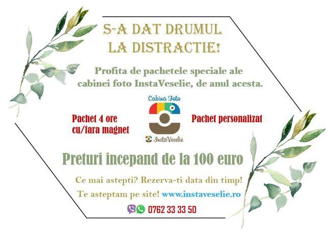 Pachete cabina foto de la 100 euro