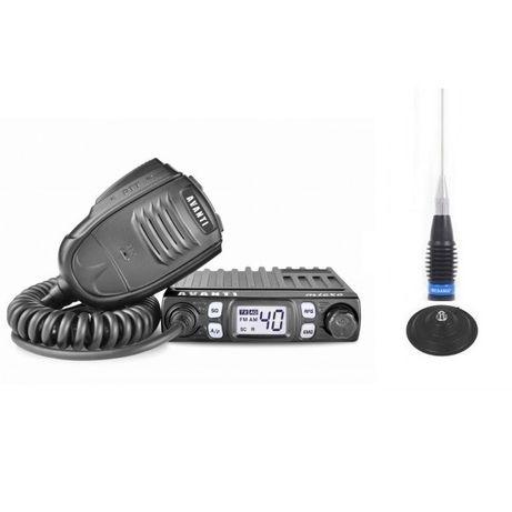 Pachet Statie CB Avanti Micro 4-8w sau 20w fixa + Antena Megawat ML145