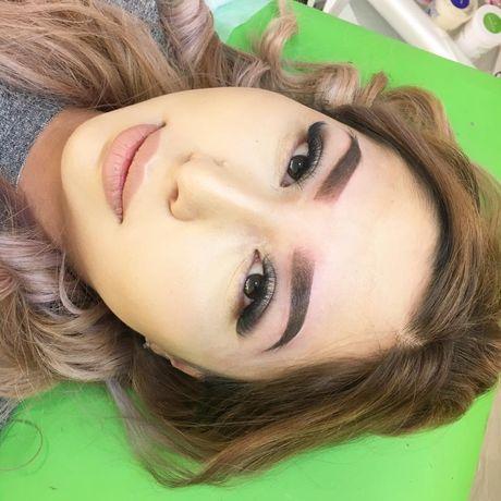 Татуаж! Перманентый макияж бровей!