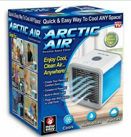 Aer conditionat portabil Arctic Air,USB,lumina ambientala