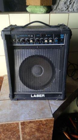Тонколона с усилвател за бас китара Китарна колона Laser GA 25 караоке