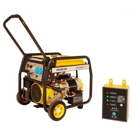 Generator Stager FD10000E+ATS -Automatizat, Putere 8kW, Stoc Mogosoaia