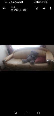 Продам итальянские диваны (две софы, один диван) , 3 шт!