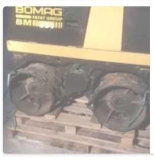 Траншейный каток Bomag bmp 851