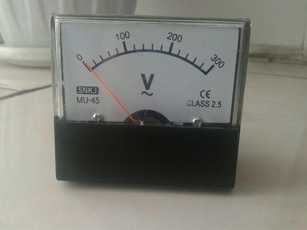 Вольтметр новый на генератор