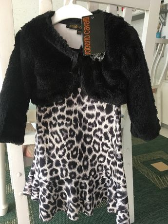 Детскa рокля Roberto Cavalli