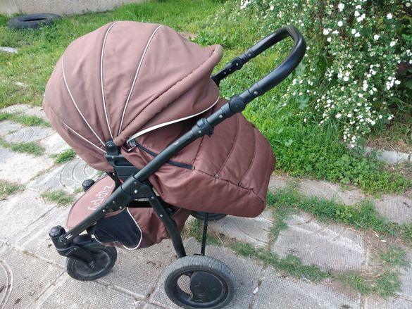 детска количка 3 в 1, ZIPPY, бежово-кафява