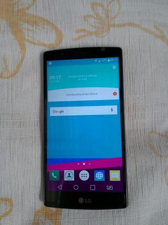 LG G4 Black leather dual sim arata