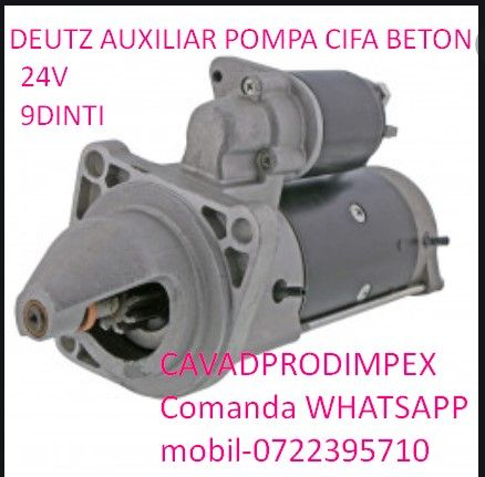 Electromotor Deutz pentru pompa cifa beton 24v