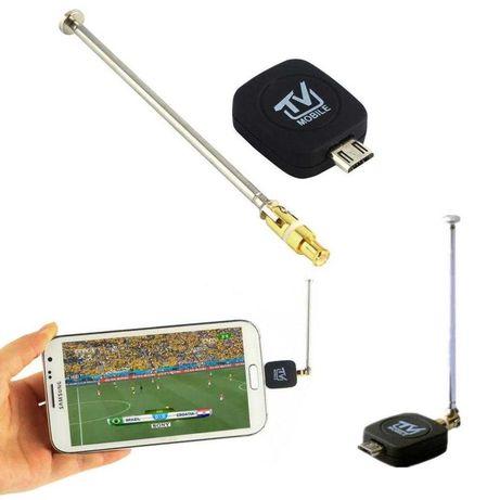 Цифров тунер антена телевизия за телефон таблет смартфон андроид