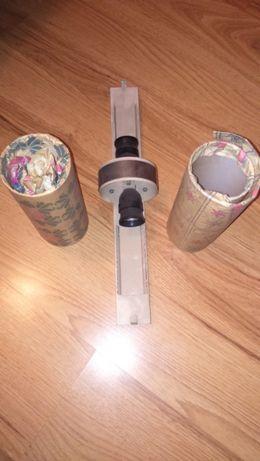 нов лампион за стена с две крушки