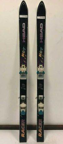 горные лыжи  Австрия марка SC HEAD racer  Tyrolia 630 и лыжные палки