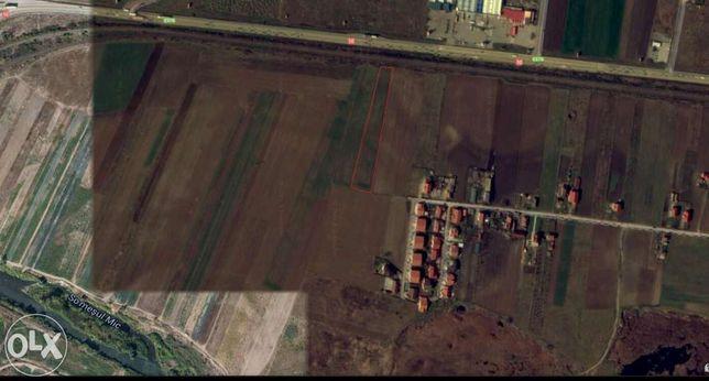 Vând teren în Jucu