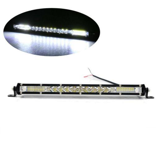 33 см LED Лед Диоден Бар, 4500lm, 90W, Ултра Тънък, 12-24V,Spot&Flood