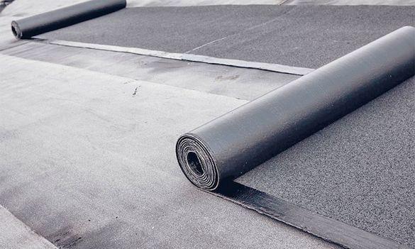 Ремонт на покриви-битумна хидроизолация