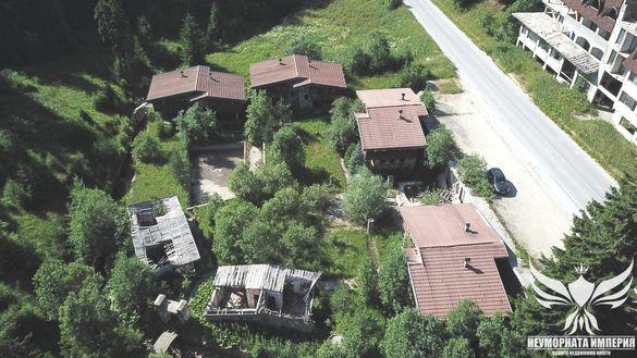 Продавам комплекс от 6бр. еднофамилни къщи, вили в Пампорово