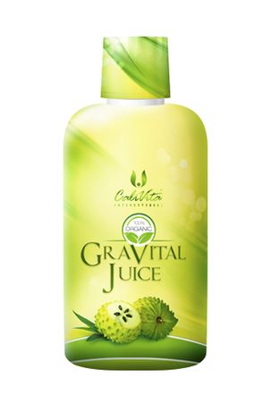 Gravital Juice Calivita antioxidant tonifiant antiviral, antibacterian