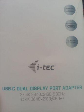 I-Tec Usb-c / Thunderbolt 3 la 2 x display port 4K