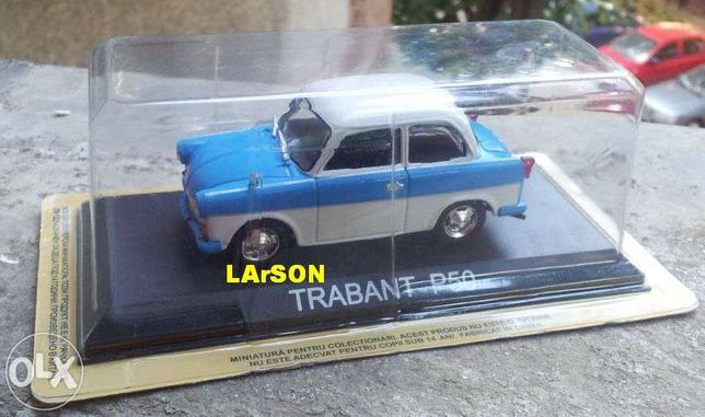 Macheta Trabant P50 1/43 - DeAgostini Masini de legenda