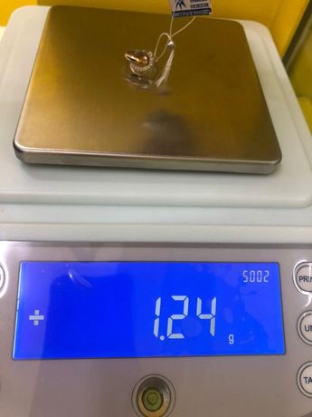 Кольцо с камнями Золото, золото 585 (14K), вес 1.24 г. «Ломбард Белый»