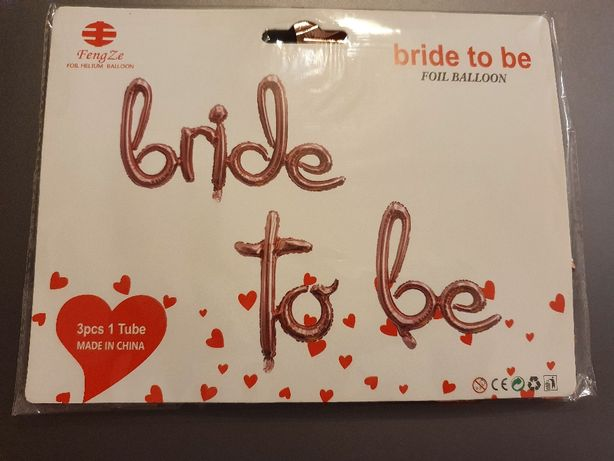 "Set baloane ""Bride to be"""