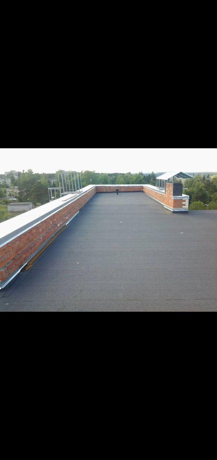 Качественный ремонт мягкой и жёсткой кровли,низкие цены!крыша мембрана