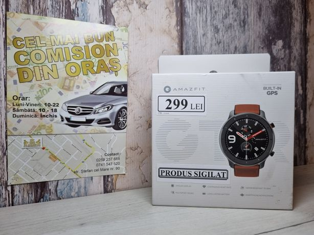SIGILAT Ceas smartwatch Amazfit GTR 47mm Aluminium Alloy King Amanet