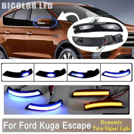 SET Semnalizare dinamica LED + FORD Kuga II, FORD EcoSport Escape