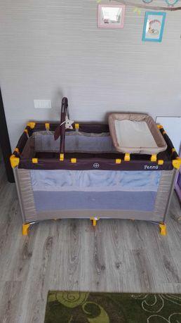 Кроватка-манеж детская
