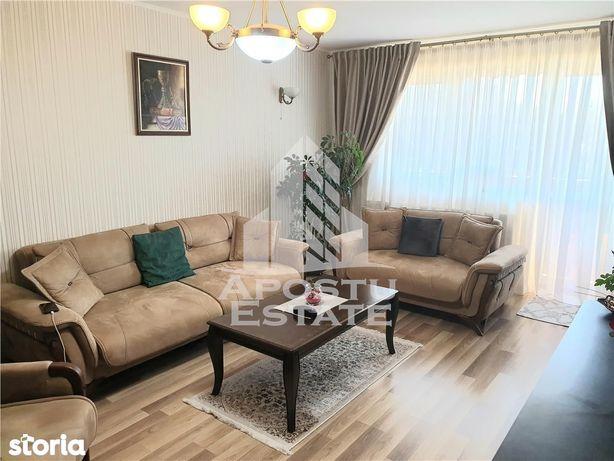 Apartament spatios in Dumbravita, cu 2 camere, decomandat, etajul 1, l