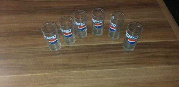 Чаши 6 броя Pepsi