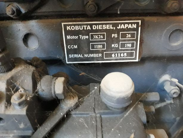 Motor KUBOTA 3K26