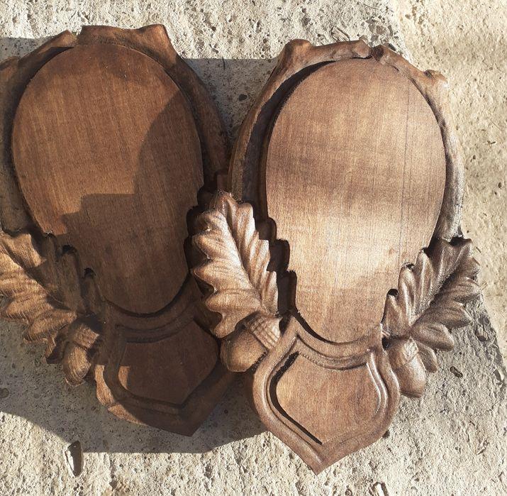 Panoplie Caprior, Mistreț trofeu lemn de tei. Pachet 10 bucăți 600lei Pojorata - imagine 1