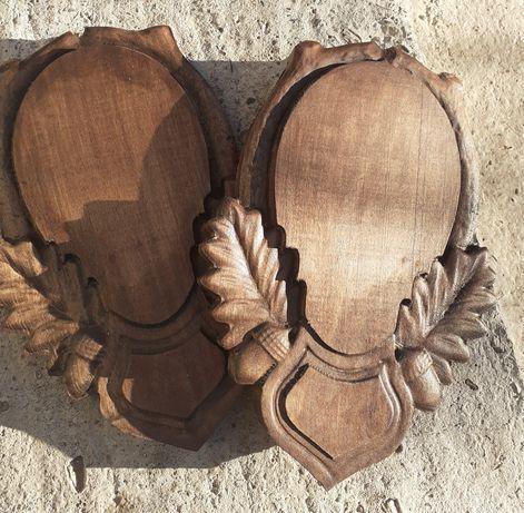 Panoplie Caprior, Mistreț trofeu lemn de tei. Pachet 10 bucăți 600lei
